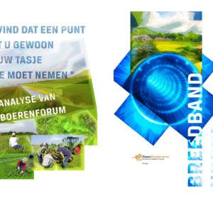 Ontwerp en illustratie rapporten, Hanzehogeschool Groningen