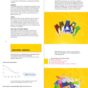 Ontwerp en illustratie brochure  Universiteit Utrecht, Dynamics of Youth