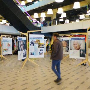 Ontwerp reizende tentoonstelling Palet van Verzet, Bibliotheek R.dam.