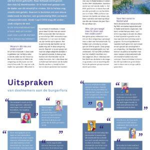 """Ontwerp en illustratie Brochure """"Zaak Vaatstra"""""""