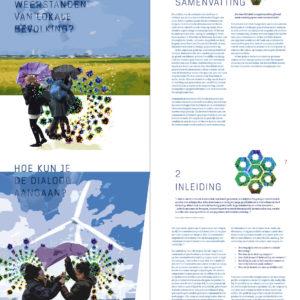 Ontwerp en illustratie rapport Hanzehogeschool Groningen